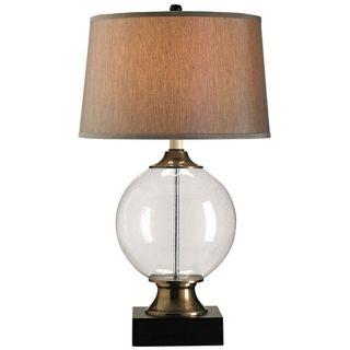 Currey and Company Motif Blown Glass Table Lamp   #N6595