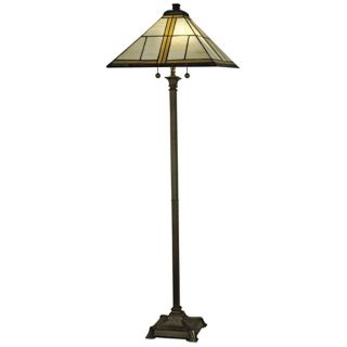 "Dale Tiffany Simplicity Mission 65"" High Floor Lamp   #R9877"