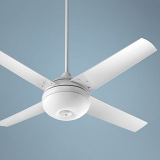 "52"" Quorum Orbit Patio White Ceiling Fan   #U6069"