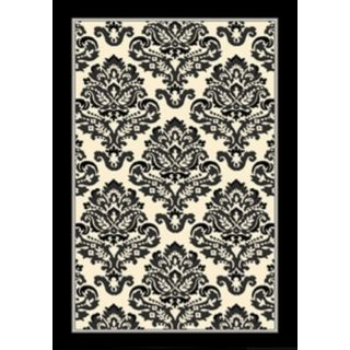 Dark Room Red Area Rug   #J2092