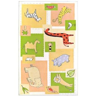 Animal Patches Area Rug   #F4240