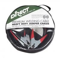 Direct Wire 25 Foot Premium Heavy Duty Battery Jumper Cables