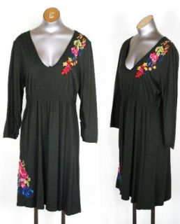 JWLA Embroidered Floral Dress Size XL