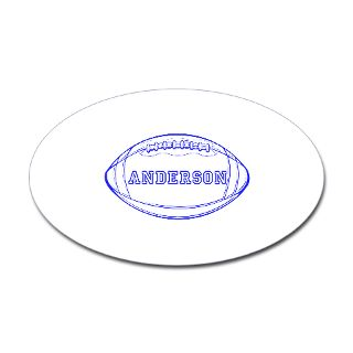 Custom Gifts  Custom Bumper Stickers  Personalized Football Decal