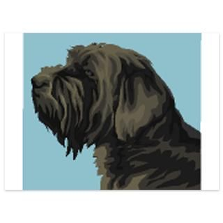 Wirehaired Pointing Griffon 5.5 x 7.5 Flat Cards