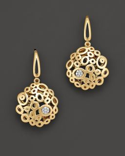 Roberto Coin 18 Kt. Yellow Gold Mauresque Diamond Earrings