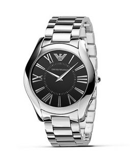 Emporio Armani Slim Stainless Steel Watch, 43mm