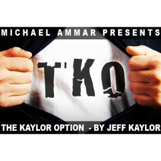 The Kaylor Option(TKO) By Jeff Kaylor Coin magic tricks