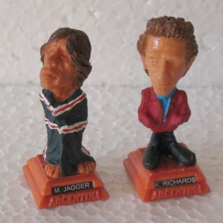 The Rolling Stones   Mick & Keith   Rustic Figures   Made in Argentina