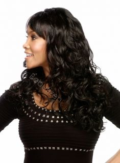 Pure Stretch Cap Long Loose Body Curl Full Wig Kellita