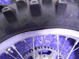 Yamaha WR450F Rear Excel Wheel Set 18 inch YZ250 YZ125 YZ450F 2000