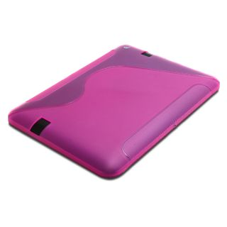 Hybrid TPU Protector Case Cover for  Kindle Fire HD 7 (Pink