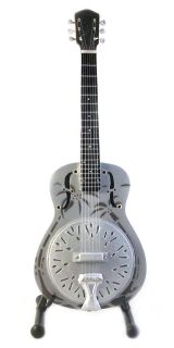 Miniature Guitar Mark Knopfler Dobro National Style O Resonator Free