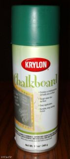 Krylon Make A Chalkboard Chalk Board Spray Paint Shops School Kids