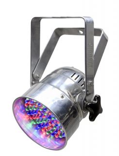 Par 38 18c Professional RGB LED Stage Wash Light Chrome Color