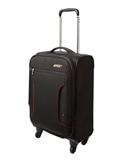 Antler Cyberlite Black & Red 56cm 4 Wheel Case