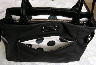 Kate Spade Lawrenceville Slim Kenny Bag Purse Black