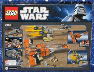 Lego 7962 Star Wars Episode One Anakins and Sebulbas Podracers Play