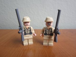Indiana Jones Lego German Soldier Minifigure Lot Great Minifigs