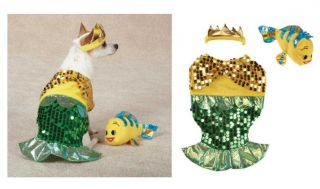 Lil Furmaid Costume for Dogs   Under the Sea Halloween Dog Costumes