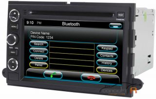 2005 06 07 08 Lincoln Mark Lt DVD GPS Navigation Radio Double 2 DIN AV