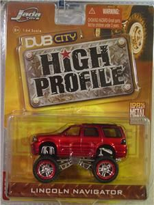 Lincoln Navigator Jada Dub City High Profile 1 64