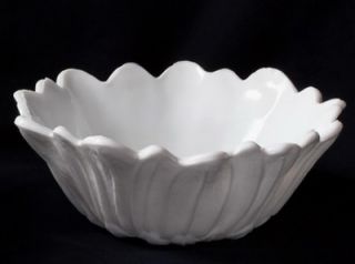 Milk White Indiana Glass Lily Pons Sunflower Bowl Beautiful