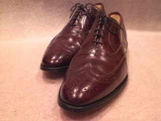 Allen Edmonds Lloyd Wingtip Oxfords Size 12 D