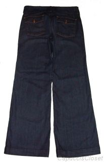 Lucky Brand Jeans Womens Manhattan Demott Stretch Denim Trouser 12 31