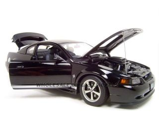 2003 Ford Mustang Mach 1 Black 1 18 Autoart Model Car