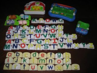 LEARNING SYSTEM WORD WHAMMER FRIDGE FARM PHONICS LETTERS ALPHABET LOT