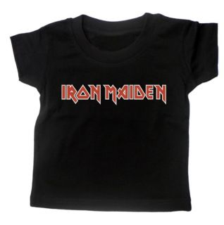 Baby T Shirt Iron Maiden Rock Metal Music Months Gift