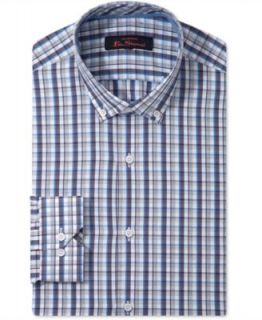 Ben Sherman Dress Shirt, Polka Dot Long Sleeve Shirt