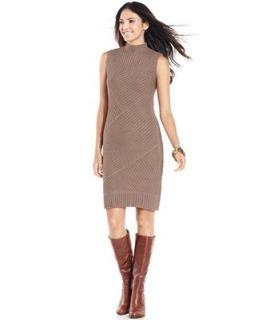 Fever Dress, Sleeveless Ribbed Knit