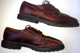 Allen Edmonds Mapleton Brown Leather Loafers Mens Shoes Size 10 Free