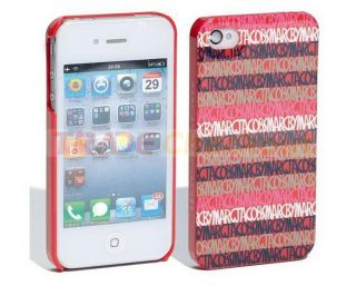 Marc Jacobs Linear Logo Design Case Cover Skin Protector Bumper iPhone
