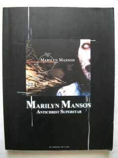 Marilyn Manson Antichrist Superstar Japan Band Score Tab