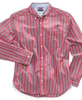 Tommy Hilfiger Kids Shirt, Boys Rocco Stripe Shirt