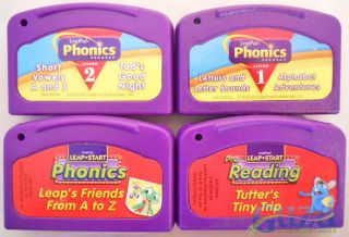 10 Games Lot LeapFrog LeapPad Phonics Music Math Spanish English