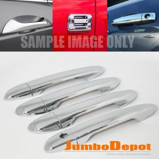 For 09 11 Mazda 2 3 6 Demio Axela Atenza Chrome Door Handle Cover