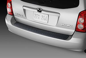 Rear Bumper Step Plate Guard 2004 06 Mazda Tribute 0000 8T J02A