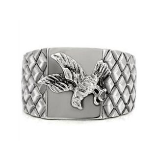 Fabulous Mens 361L Stainless Steel Soaring Eagle Ring Size 9 10 11 12