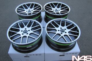 Coupe Gianelle Yerevan Lightweight Black Concave Wheels Rims