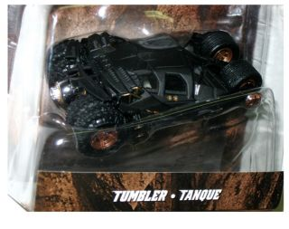 batman 2012 Hot Wheels Black Tumbler Dark Knight Batmobile ★1 50