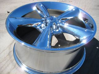 18 Ford Mustang Chrome Wheels Rims Trade 2010 2011 Exchange