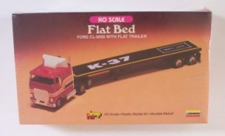 Truck N Flatbed Trailer Lindberg HO Mini Lindy SEALED Box Vtg