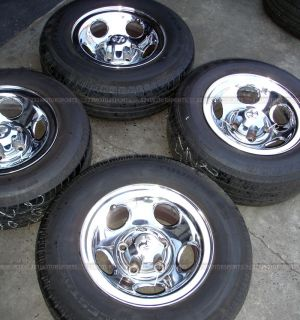 15 inch Used Dodge RAM Rims Wheels Tires