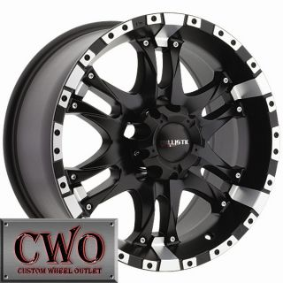 20 Black Ballistic Wizard Wheels Rim 5x135 5 Lug Ford F 150 Expedition