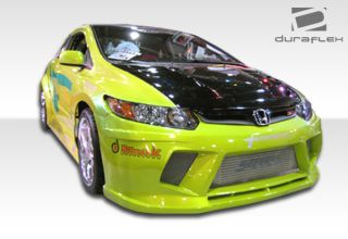 2006 2011 Honda Civic 2dr Duraflex Hot Wheels Widebody Side Skirts