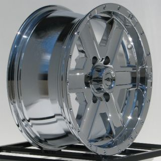18 inch Chrome Wheels Rims Chevy Silverado 1500 Truck GMC Sierra Tahoe